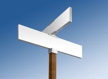空白蓝色符号天空街道白色 库存照片