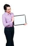 空白藏品符号妇女 免版税库存照片