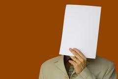 空白表面纸张 库存照片