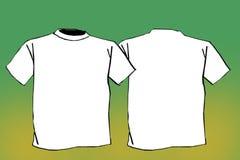 空白衬衣t 免版税库存照片