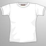 空白衬衣t 免版税图库摄影