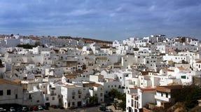 空白西班牙的村庄 图库摄影