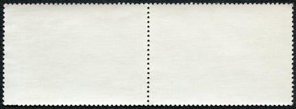 空白邮票块 免版税库存图片
