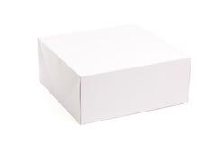 空白配件箱查出的白色 库存照片