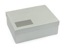 空白配件箱标签 免版税库存图片