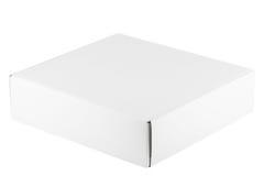 空白配件箱白色 免版税图库摄影