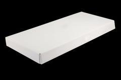 空白配件箱白色 库存图片