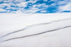 空白雪 库存图片