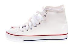 空白鞋子 免版税图库摄影