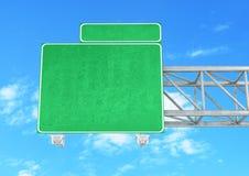 空白高速公路符号 图库摄影