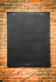 空白黑板 库存照片