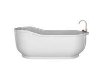 空白浴缸 图库摄影