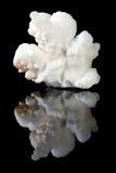 空白aragonite的水晶 免版税图库摄影