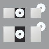 空白blueray CD的光盘dvd 免版税库存照片