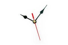 空白clockface 免版税库存图片