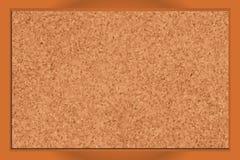 空白corkboard 免版税库存照片