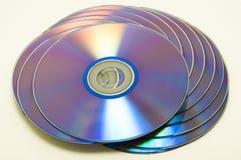空白dvd 免版税图库摄影