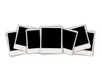 空白instand照片七 向量例证