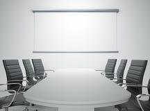 空的会议室 图库摄影
