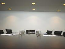 空的会议室 免版税库存图片
