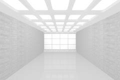 空的内部新的空间 免版税库存图片