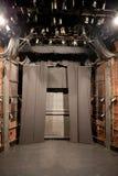 空的剧院阶段 免版税库存照片