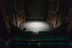 空的剧院阶段 免版税图库摄影