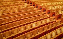 空的剧院-储蓄图象 免版税库存照片