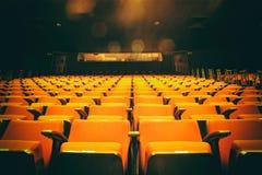 空的剧院 库存图片