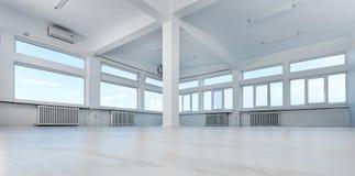 空的办公室空间 免版税图库摄影