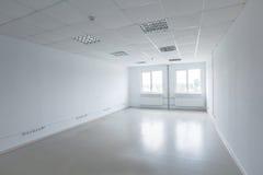 空的办公室空间 免版税库存图片