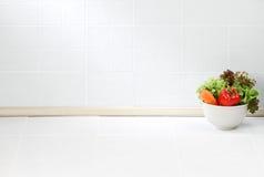 空的厨房空间 免版税库存图片