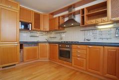 空的厨房 免版税库存图片