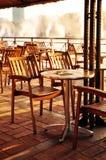 空的咖啡馆 库存照片
