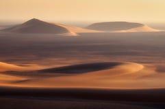 空的四分之一沙漠 免版税库存图片