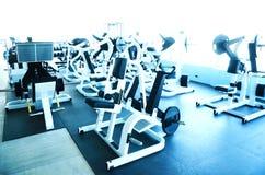 空的大健身房 免版税图库摄影