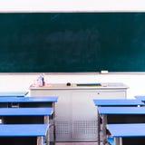 空的学校教室 免版税图库摄影
