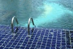空的室外池游泳 图库摄影