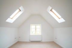 空的室看法在现代家 库存照片