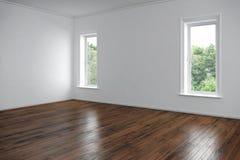 空的室-公寓 库存图片