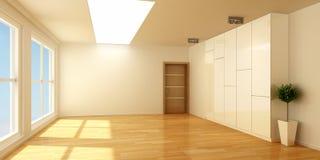 空的室 库存照片