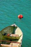 空的小船 库存照片