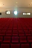 空的就座剧院 库存图片