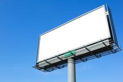 空的广告牌 库存图片
