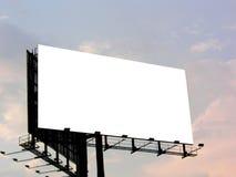 空的广告牌 库存照片