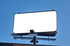 空的广告牌 免版税库存照片