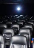 空的戏院剧院内部  免版税库存图片