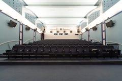 空的戏院大厅 免版税图库摄影