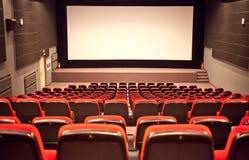 空的戏院观众席 免版税库存图片