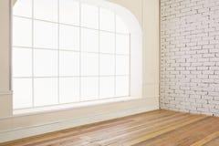 空的房子内部 免版税库存照片